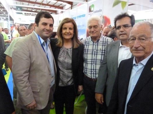090514 Agroponiente Vegacañada. Visita ministra Báñez