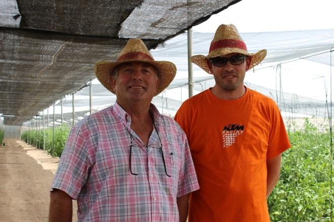 Rafael García e hijo