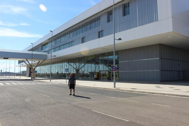 En la tierra del Quijote hoy día se construyen aeropuertos fantasma