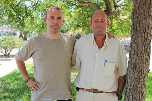 Juan Benavides y Juan Ignacio Padilla
