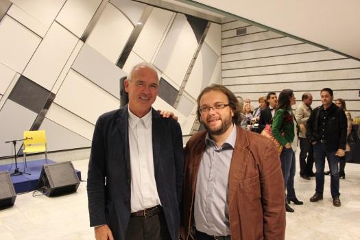 Con Paco Casero