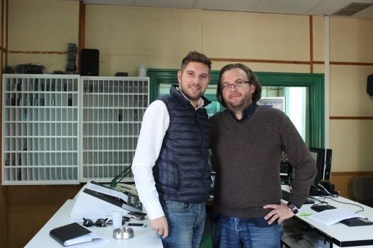 Alberto García y José Antonio Arcos
