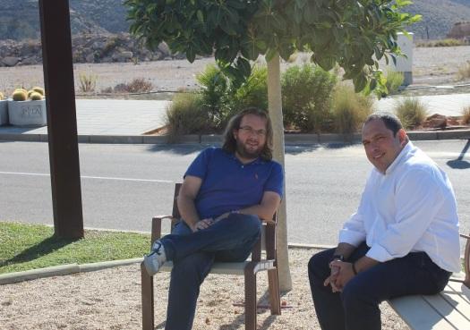 Rafael y José Antonio