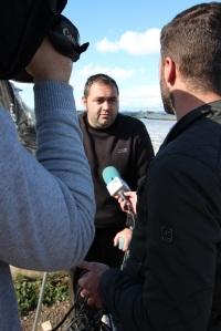 agricultor entrevistado por Tele 5