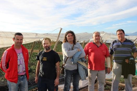 Rafael Martos, Jorge Martín, Ricardo Martín, Rafael Martos y Juan Manuel Montalbán