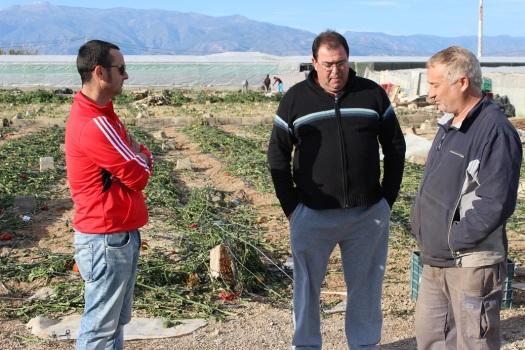Rafael Martos, Juan Manuel Montalbán y Paco Vidal