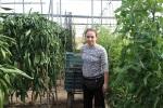 trabajadora agrícola