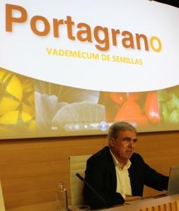 José Marín en la presentación