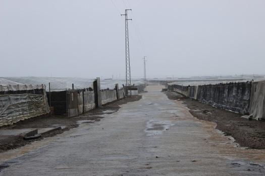 lluvia en San Agustín
