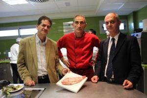 Alberto Urea, José Torrente y Luis Suanzes
