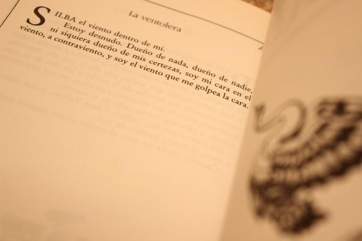 última página