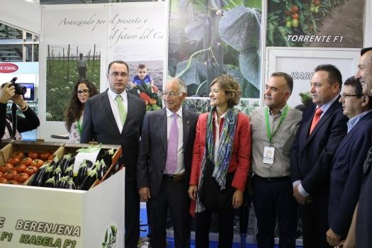 Foto de familia con la ministra