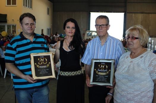 30 aniversario y reconocimiento a sus padres
