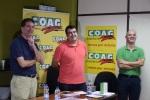 Alberto Urea, Andrés Góngora y Luis Suanzes