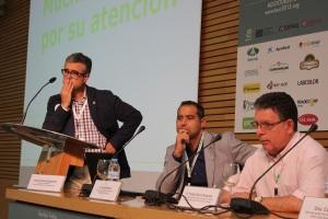 Juan Colomina, Flavio Alzueta y Tomás García Azcárate