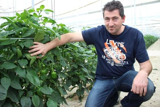 Juanmi Romera con california murciano