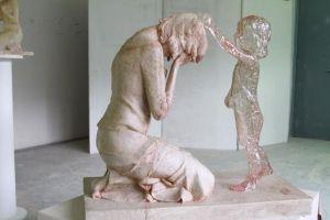 eslovaquia monumento del niño por nacer