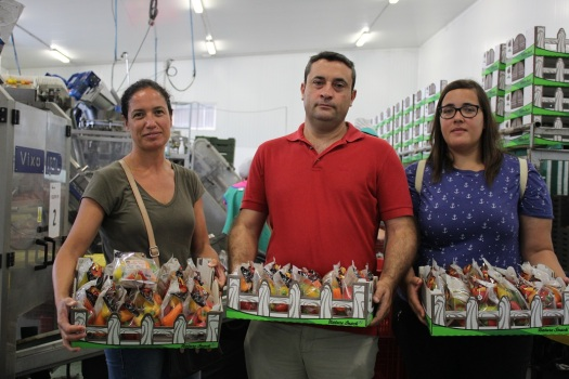 Mª Carmen Manjón, Javier Planelles y Beatriz López