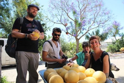Melones ecológicos de Jesús Rincón