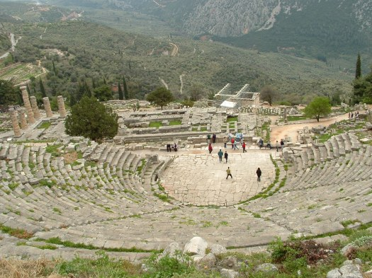 Theatre at Delphi - Official Website of Luciana Cavallaro