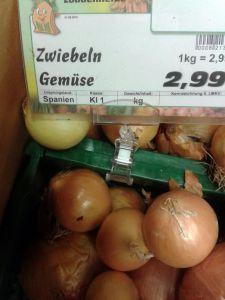 Zwiebeln Gemüse
